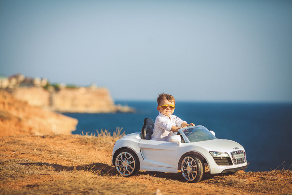 La voiture électrique enfant