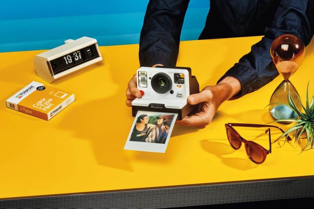L'appareil photo polaroid