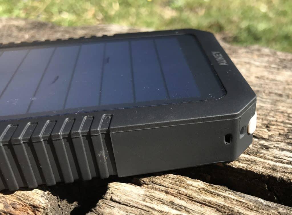 Zoom sur la batterie solaire