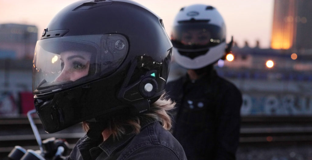 Le casque moto bluetooth