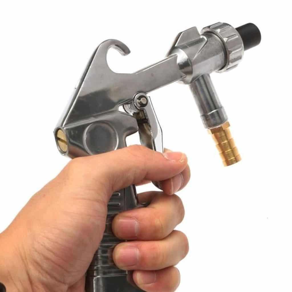 Le pistolet de sablage