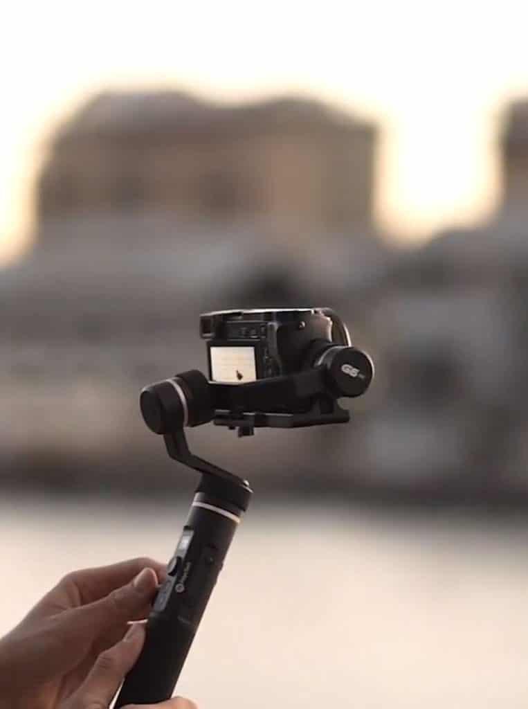 Zoom sur le stabilisateur caméra