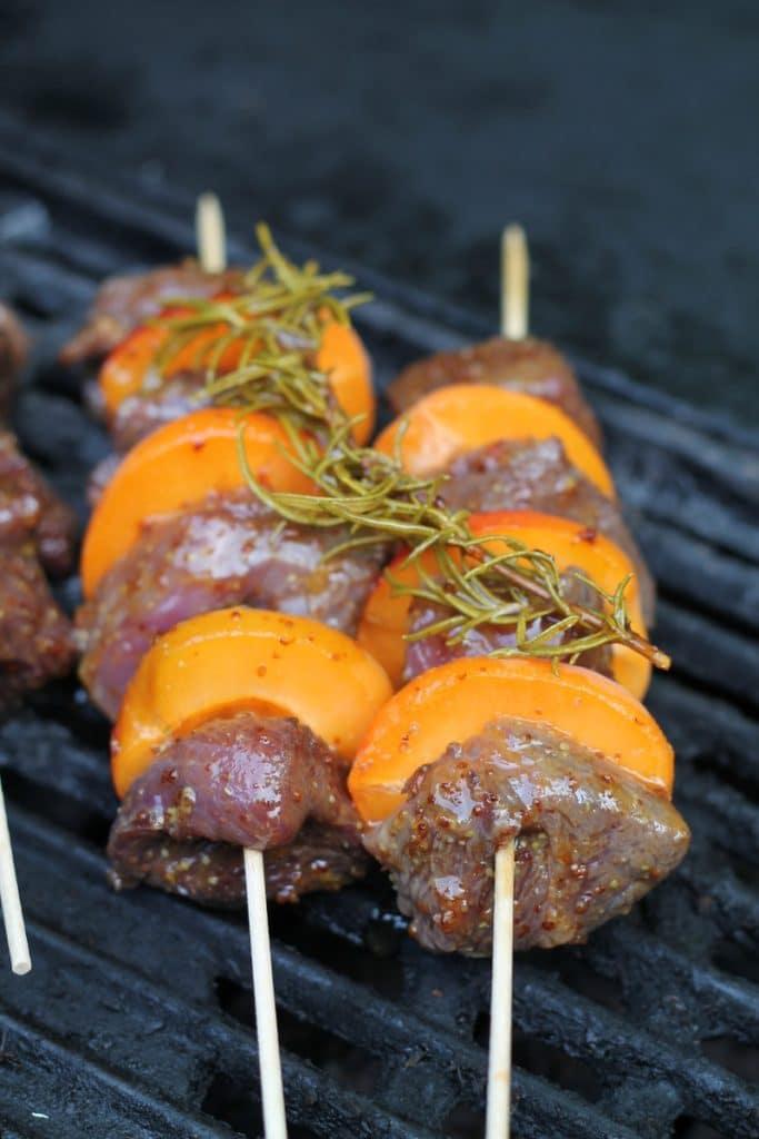 barbecue canard abricot