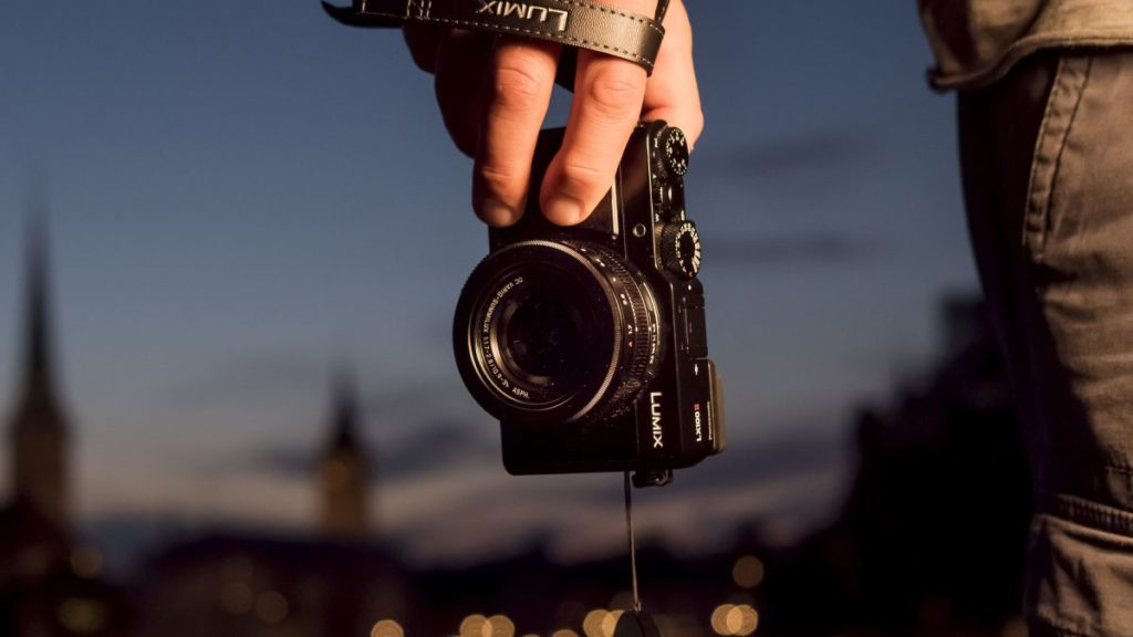 Zoom sur l'appareil photo compact
