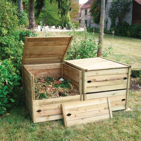 Le composteur en bois