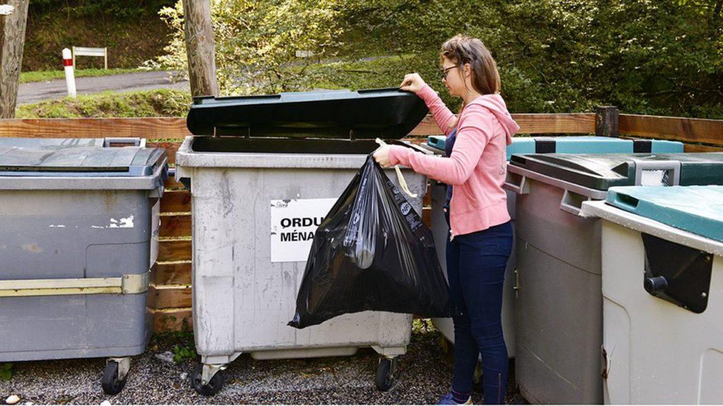 Les déchets non recyclables