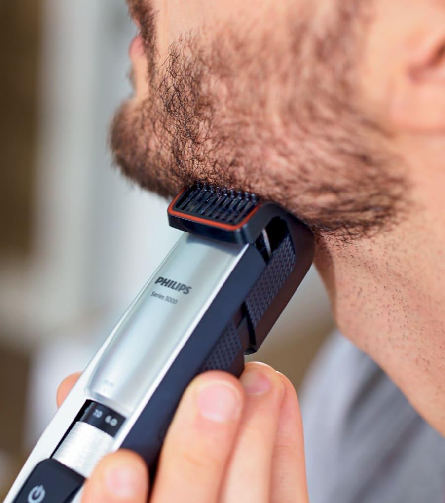 La tondeuse à barbe