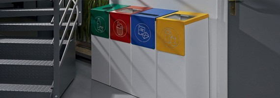 Les poubelles de tri sélectfif