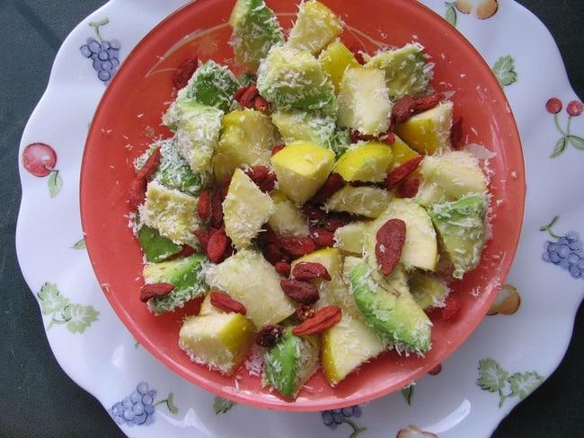 salade protéines végétales