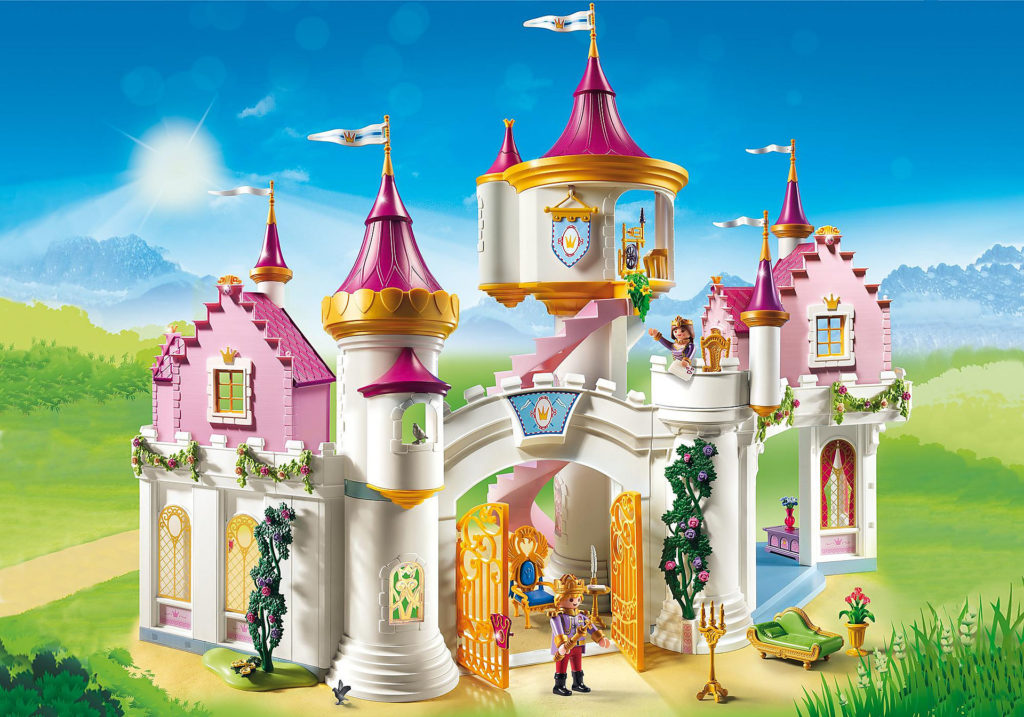 Chateau Princesse Playmobil