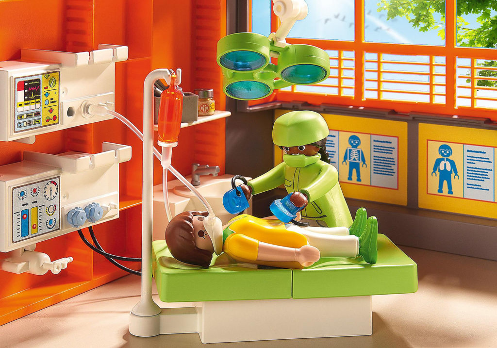 Hopital Playmobil