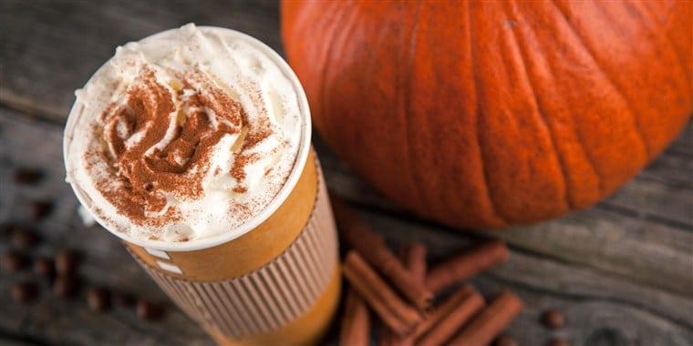 Le Pumpkin Spice Latte de Starbucks