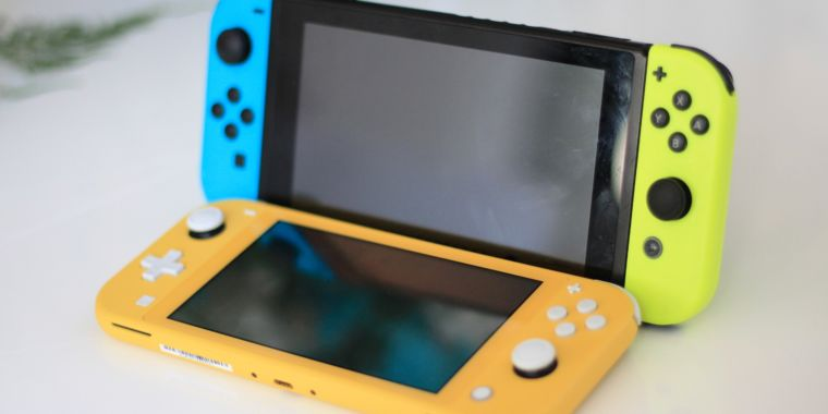 Nintendo Switch versus Nintendo Switch Lite
