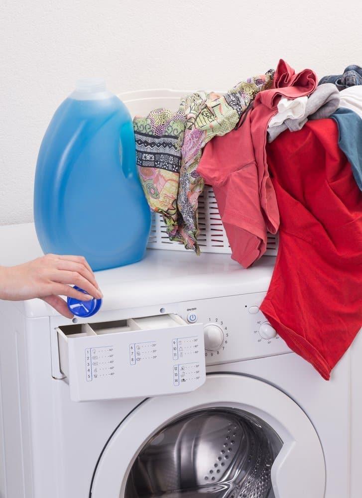 Zoom sur la machine à laver
