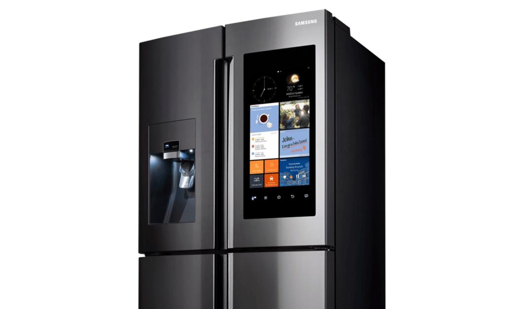 Zoom sur le réfrigérateur Samsung