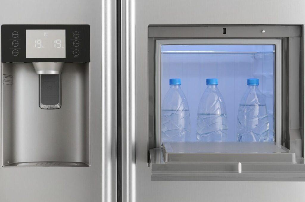 Zoom sur le frigo américain haier
