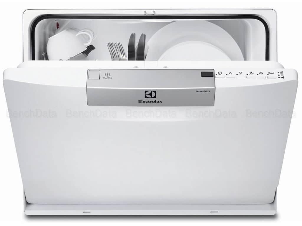 Zoom sur le lave vaisselle Electrolux