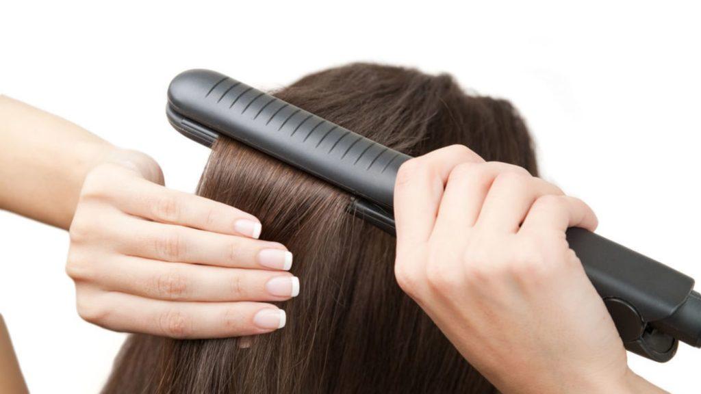Zoom sur le lisseur cheveux