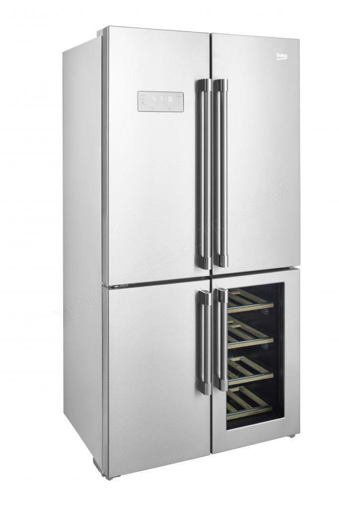 Zoom sur le réfrigérateur Beko