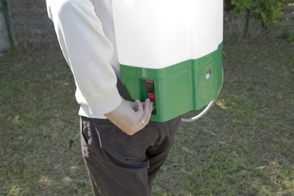 Zoom sur le pulvérisateur électrique