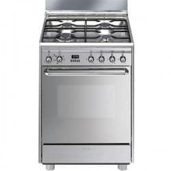 cuisinière Gaz Smeg SCB60MX9