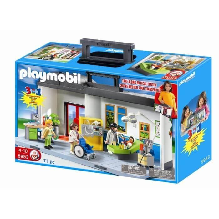 5953 hopital transportable Playmobil