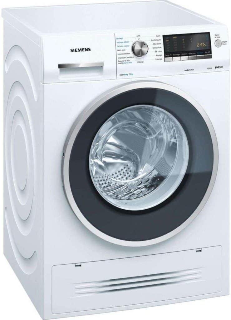 Lave linge séchant hublot Siemens WD14H464FF