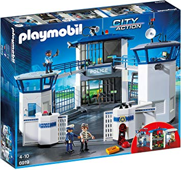 PLAYMOBIL 6919 – City Action – Commissariat de Police avec Prison