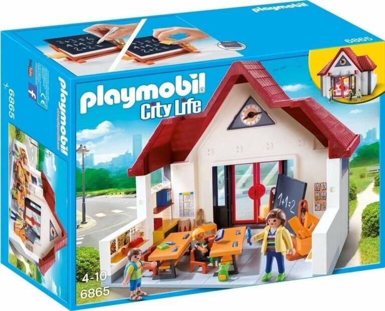 Playmobil - 6865 école avec salle de classe