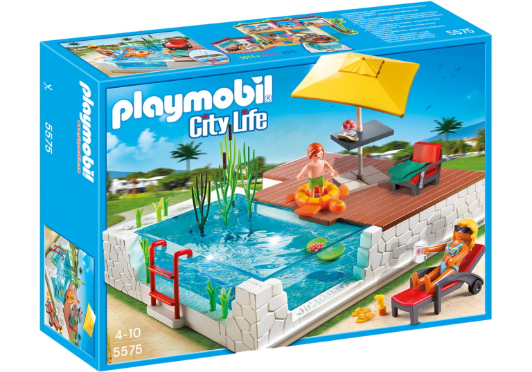 piscine playmobil city life 5575