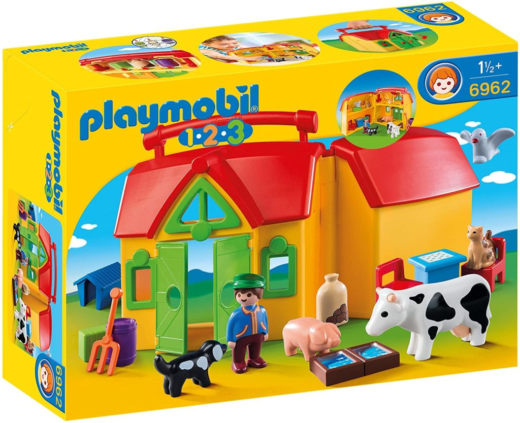 Playmobil Ferme transportable avec animaux - 6962