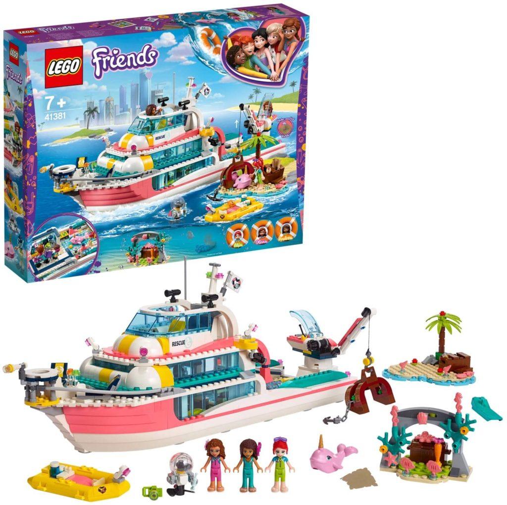 LEGO®-Friends Le bateau de sauvetage 41381