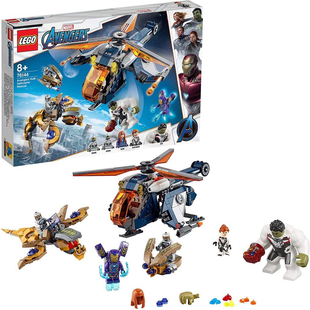 LEGO® Marvel Super Heroes™ - L'hélicoptère des Avengers, 76144