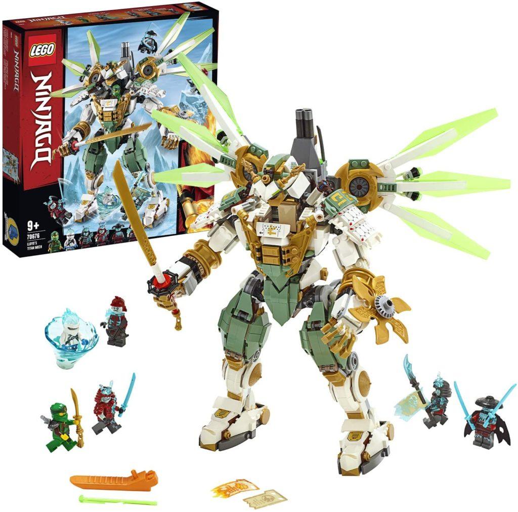 LEGO®-NINJAGO® Le robot Titan de Lloyd 70676