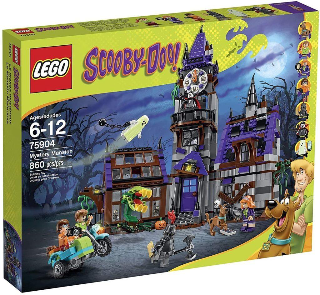 LEGO – 75904 – Scooby-Doo – La Maison Mystérieuse