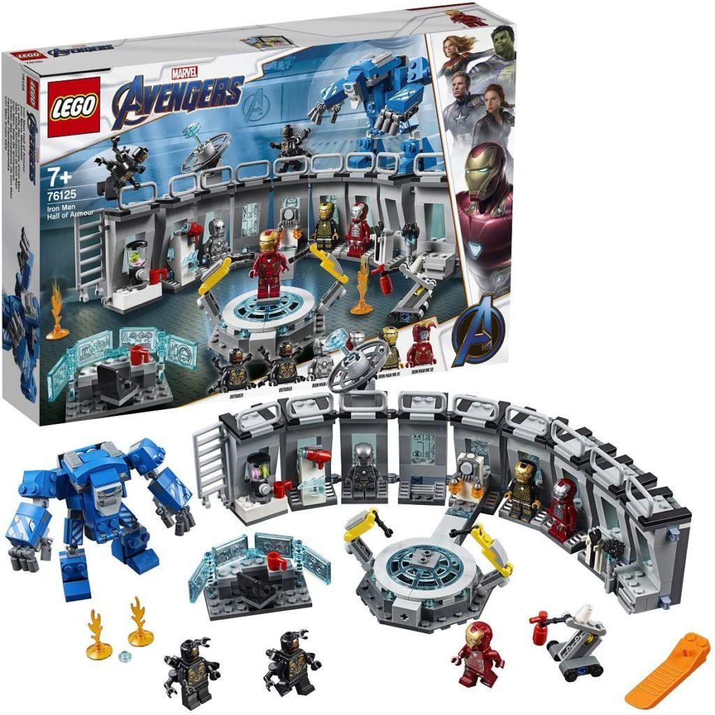 LEGO Avengers La salle des armures d'Iron Man 76125