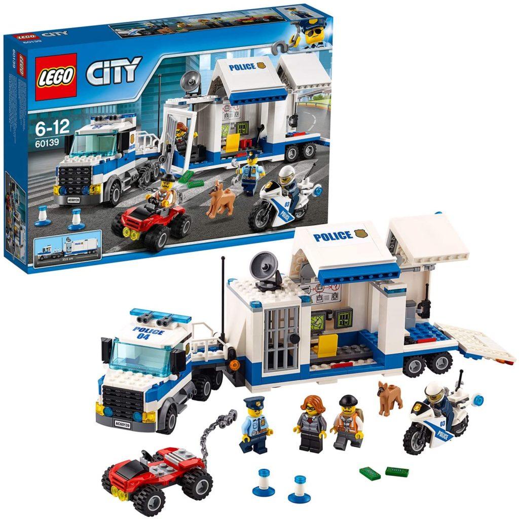 LEGO City - Le poste de commandement mobile - 60139