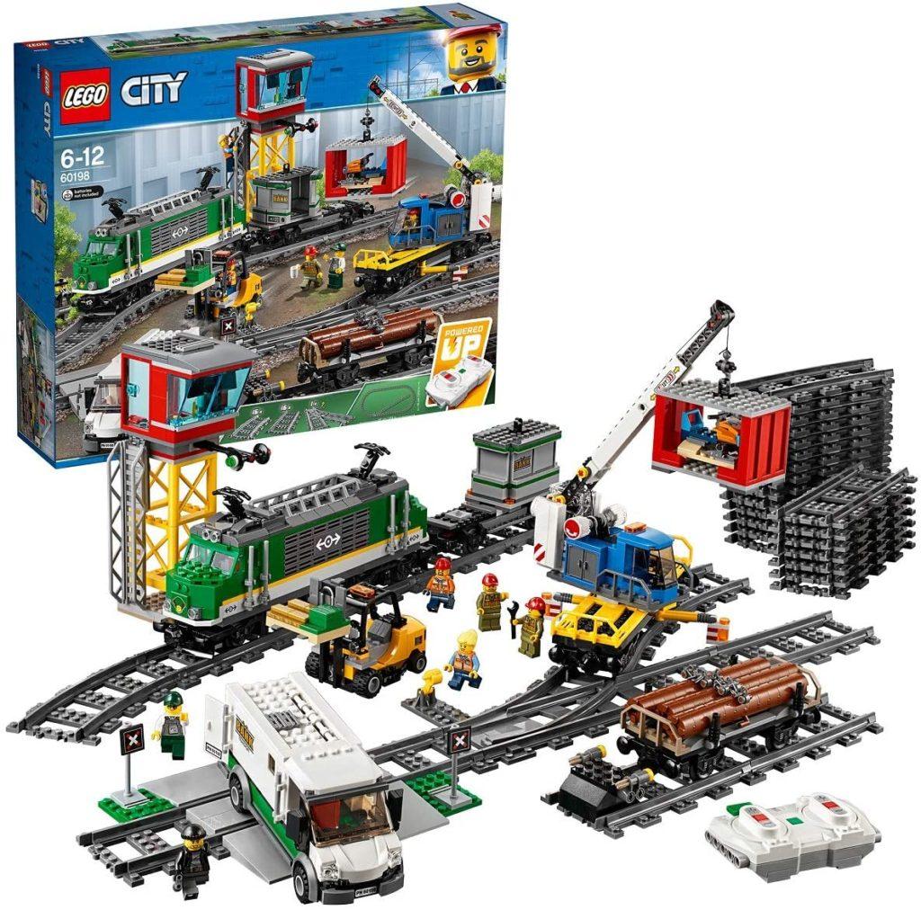 LEGO City - Le train de marchandises télécommandé - 60198