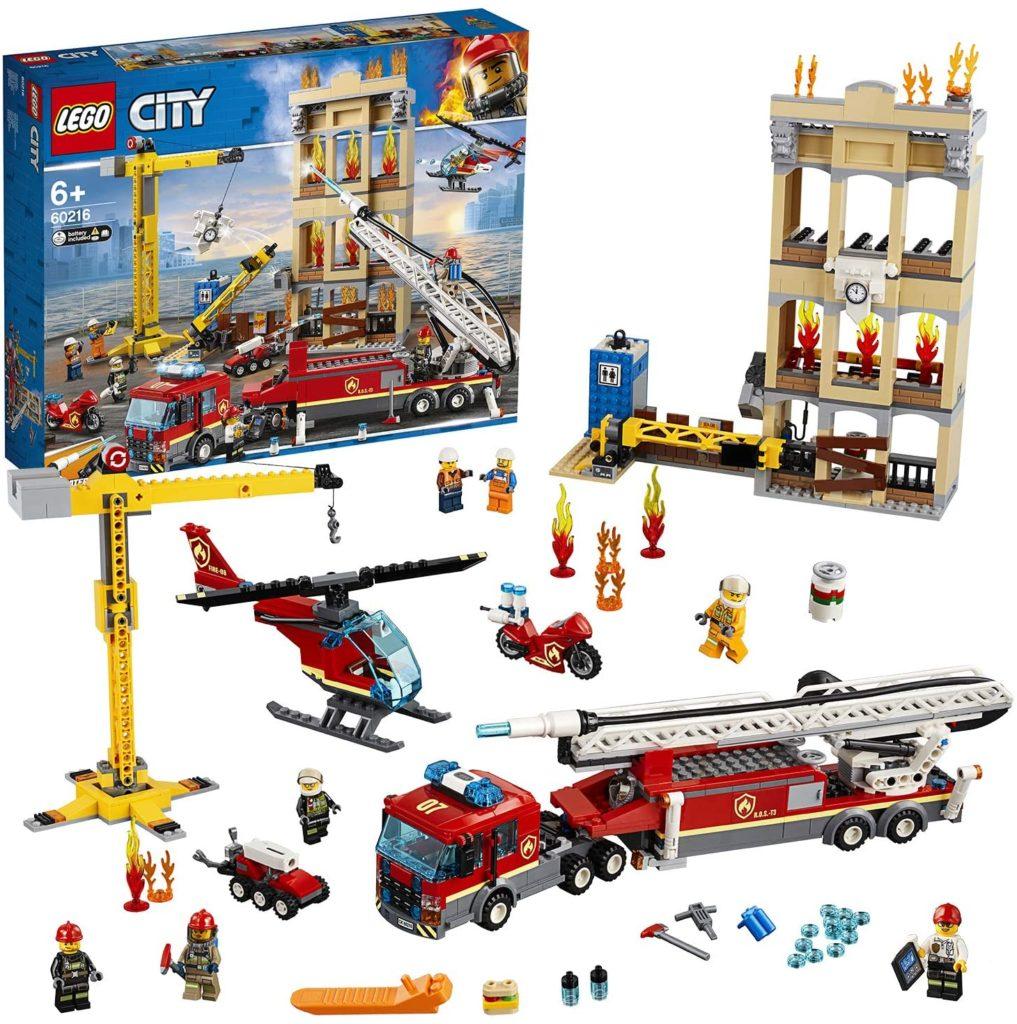 LEGO City - Les pompiers du centre-ville - 60216