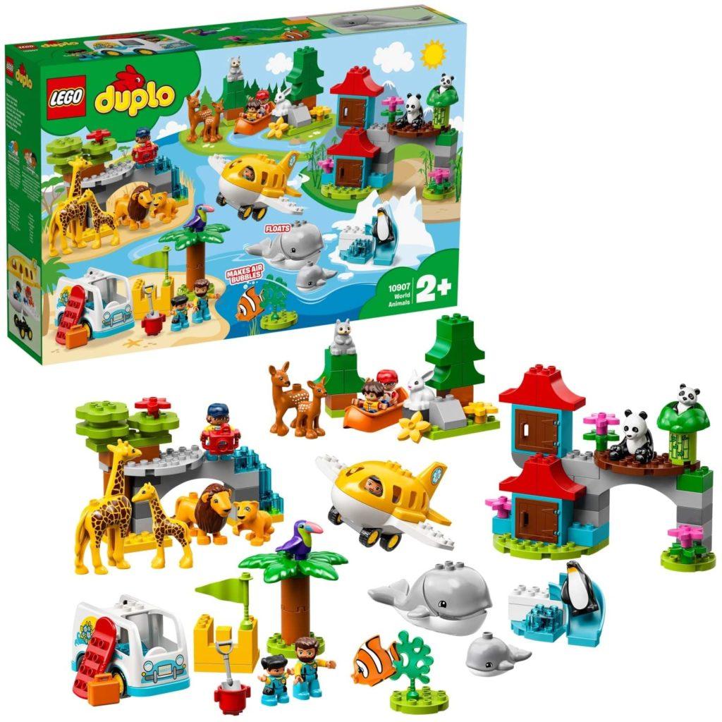 LEGO DUPLO Les animaux du monde 10907