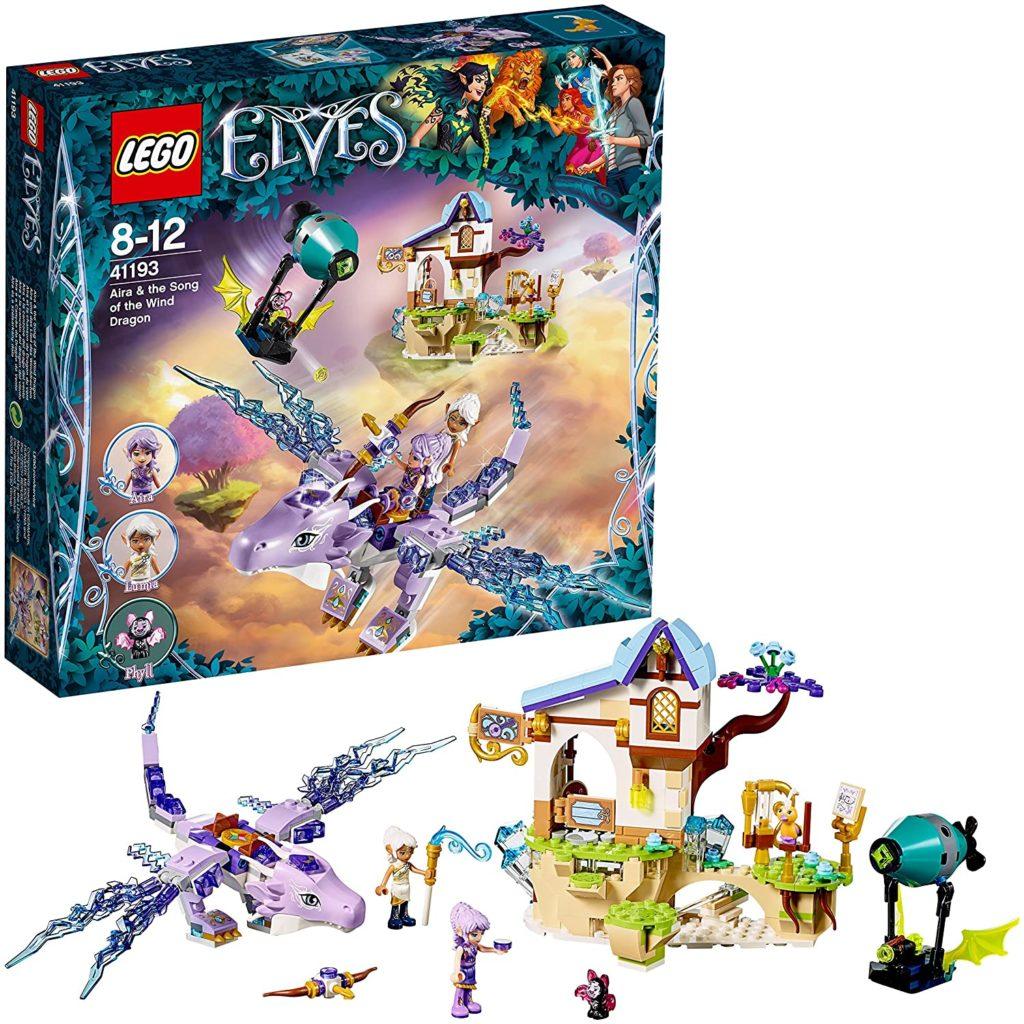 LEGO Elves - Aira et la chanson du Dragon du vent - 41193