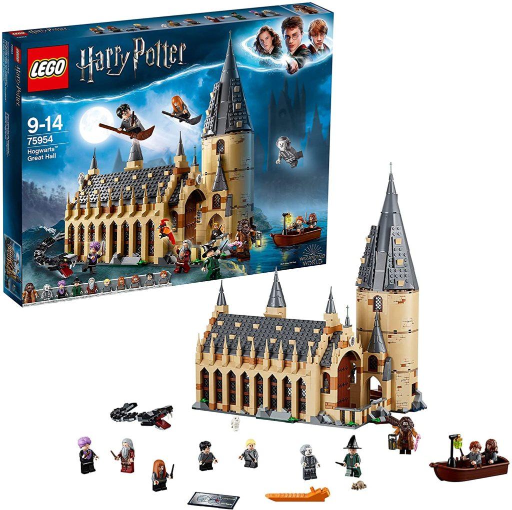 LEGO Harry Potter La Grande Salle du château de Poudlard 75954