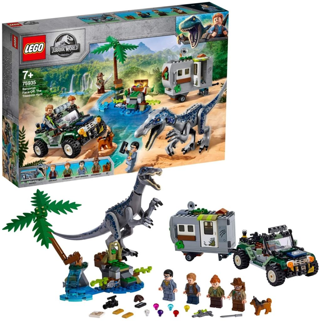 LEGO Jurassic World 75935 L'affrontement du baryonyx