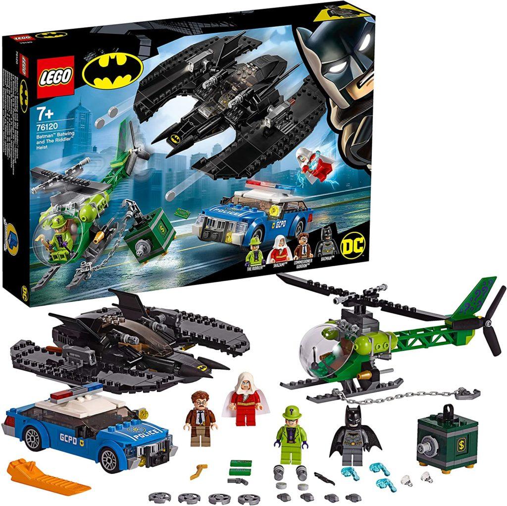 LEGO Le Batwing et le cambriolage de l'Homme-Mystère 76120