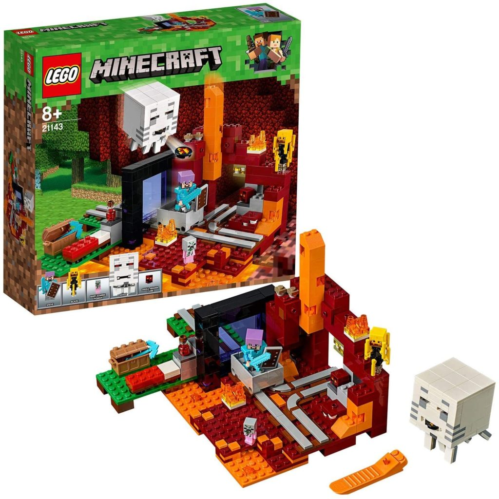 LEGO Minecraft - Le portail du Nether - 21143
