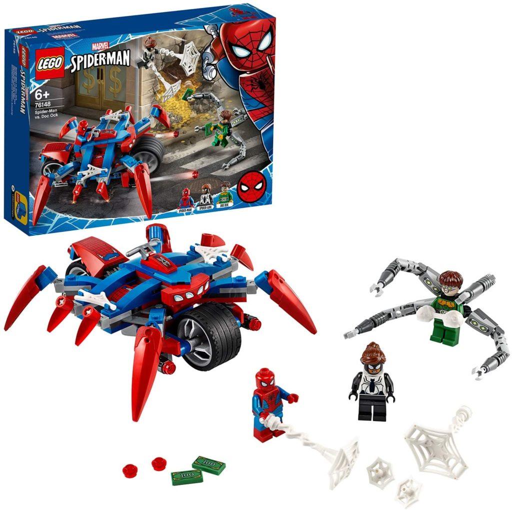 LEGO Spider-Man contre Docteur Octopus 2 et 1 76148