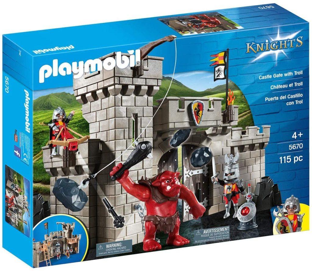 Playmobil – 5670-Citadelle Des Chevaliers Avec Troll