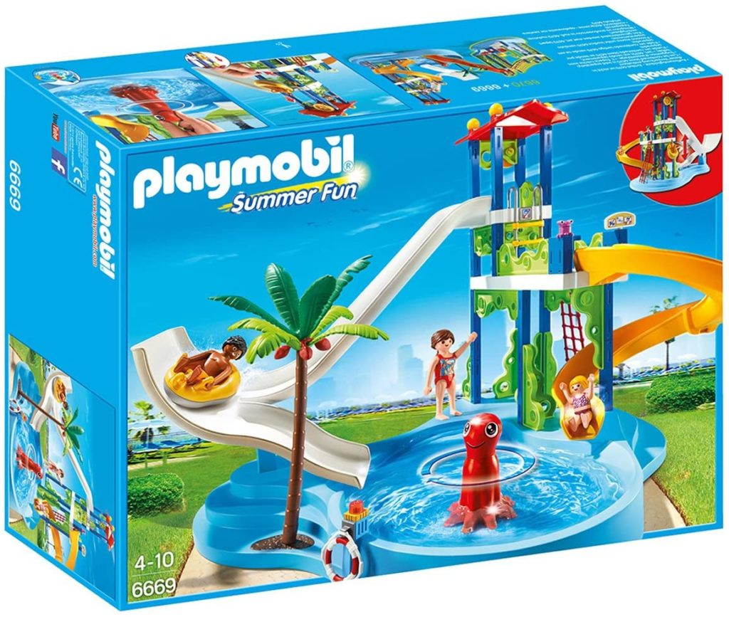 Playmobil - 6669 - Parc aquatique avec toboggans géants
