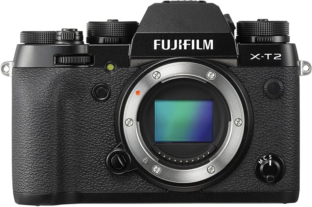 Hybride Fujifilm X-T2 Boîtier Nu Noir