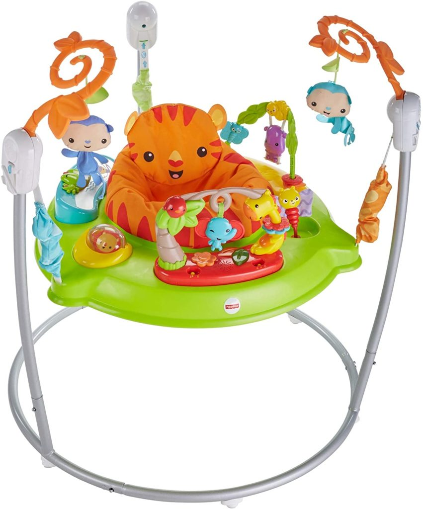 FISHER PRICE Jumperoo Jungle son et lumière